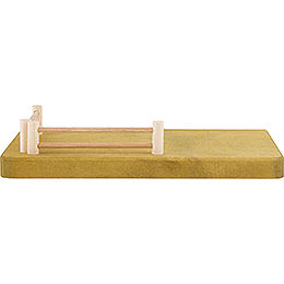 Side Part for Nativity Stable - Fence - 20x4 cm / 7.9x1.6 inch