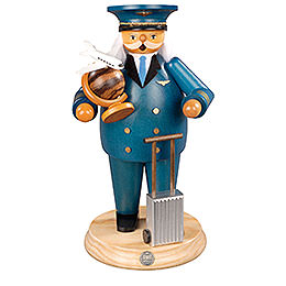 Smoker - Airplane Captain - 25 cm / 10 inch