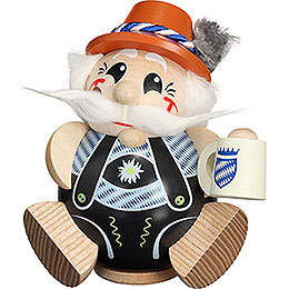 Smoker - Bavarian exclusive - Ball Figur - 12 cm / 4.7 inch