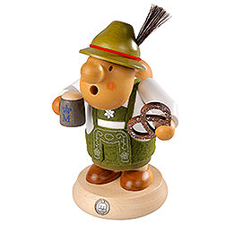 Smoker - Bavarian with Costume - 16 cm / 6 inch