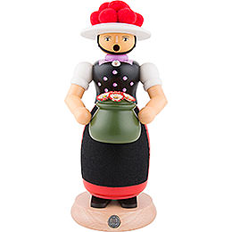 Smoker - Black Forest Girl - 25 cm / 10 inch