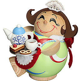 Smoker - Chocolate Girl - Ball Figur - 11 cm / 4.3 inch