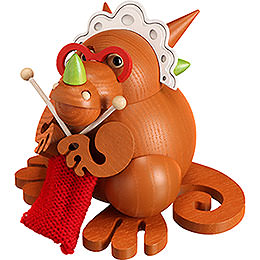 Smoker - Dragon Grandmother - Ball Figure - 10 cm / 3.9 inch