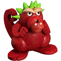 Smoker - Dragon Teenager - Ball Figure - 11 cm / 4 inch