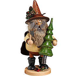 Smoker - Forest Gnome Tree Thief, Natural - 25 cm / 10 inch