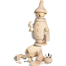 Smoker - Handicraft Set - 17 cm / 6.7 inch