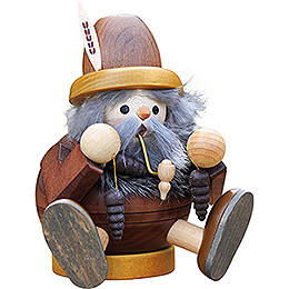 Smoker - Hobgoblin with Cone, sitting - 15 cm / 5.9 inch