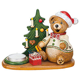 Smoker - Hubiduu - Teddy's Christmas Presents with Tea Candle - 14 cm / 5,5 inch