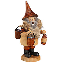 Smoker - Mountain Gnome with Bucket - 18 cm / 7 inch