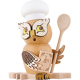 Smoker - Owl Cook/Chef - 15 cm / 5.9 inch