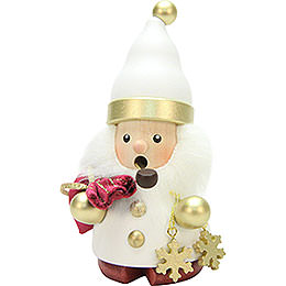 Smoker - Santa Claus White/Gold - 12,5 cm / 5 inch