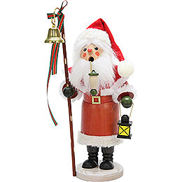 Smoker - Santa Claus with Lantern - 30,5 cm / 12 inch