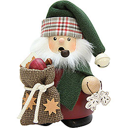 Smoker - Santa Claus with Sack - 13,5 cm / 5.3 inch