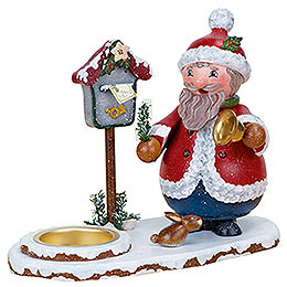Smoker - Santa Claus with Tea Light 14 cm / 5 inch