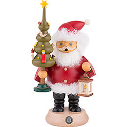 Smoker - Santa Claus with Tree - 20 cm / 8 inch