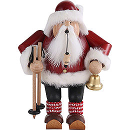 Smoker - Santa with Ski - 20 cm / 7.9 inch