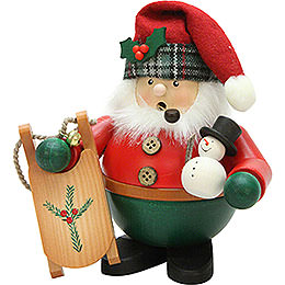 Smoker - Santa with Sleigh - 15,5 cm / 6 inch