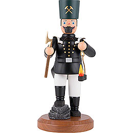 Smoker -Saxon Miner in Dress Uniform with Cocked Leg - 22 cm / 8.7 inch