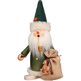 Smoker - Sleepy Head Santa Claus Green - 26,5 cm / 10.4 inch