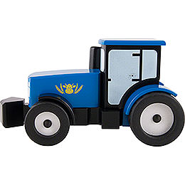Smoker Tractor - Blue - 12 cm / 4.7 inch