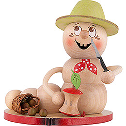Smoker - Worm Apple Rudi - 14 cm / 5.5 inch