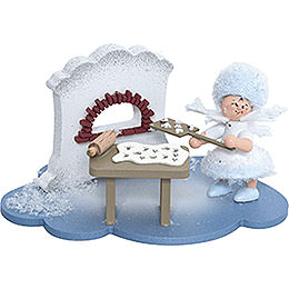 Snowflake in Christmas Bakery - 10x7x6 cm / 4x2.8x2.3 inch