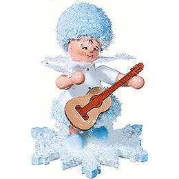 Snowflake with Guitar - 5 cm / 2 inch