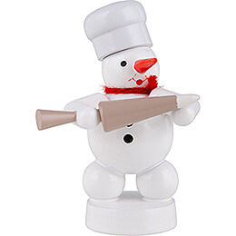 Snowman Baker with Decorating Bag - 8 cm / 3.1 inch