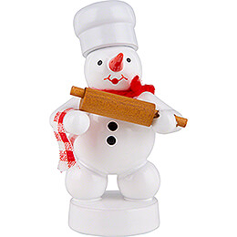 Snowman Baker with Dough Roll - 8 cm / 3.1 inch