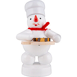 Snowman Baker with Nut Wedges - 8 cm / 3.1 inch