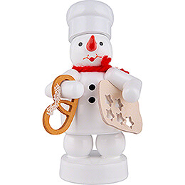 Snowman Baker with Pretzel and Star Cookie Cutter - 8 cm / 3.1 inch