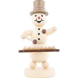 Snowman Musician Xylophone - 12 cm / 4.7 inch