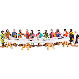 The Lord's Supper - 14 pieces - 8 cm / 3.1 inch