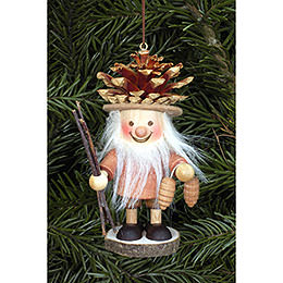 Tree Ornament - Coneman Natural - 10,5 cm / 4 inch