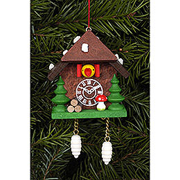 Tree Ornament - Cuckoo Clock - 5,8 cm / 2.3 inch