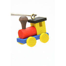 Tree Ornament - Engine - 2,4 / 2,3 cm - 1x1 inch