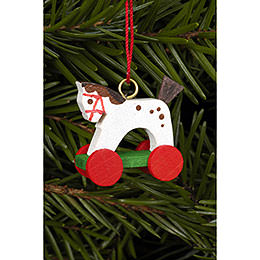 Tree Ornament - Horse Mini - 2,5 / 2,2 cm - 1x1 inch