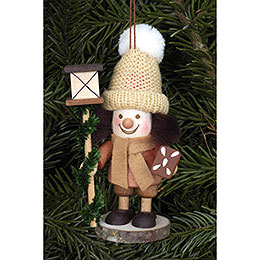Tree Ornament - Lanternman Natural - 11,5 cm / 5 inch