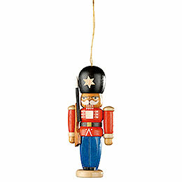Tree Ornament - Nutcracker Guarding Soldier - 8 cm / 3.1 inch