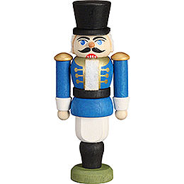 Tree Ornament - Nutcracker - Hussar Blue - 9 cm / 3.5 inch