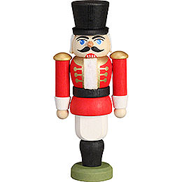 Tree Ornament - Nutcracker - Hussar Red - 9 cm / 3.5 inch