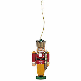 Tree Ornament - Nutcracker King Colored - 8 cm / 3.1 inch