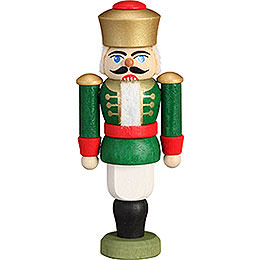 Tree Ornament - Nutcracker - King Green - 9 cm / 3.5 inch