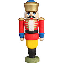 Tree Ornament - Nutcracker - King Red - 9 cm / 3.5 inch