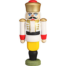 Tree Ornament - Nutcracker - King White - 9 cm / 3.5 inch