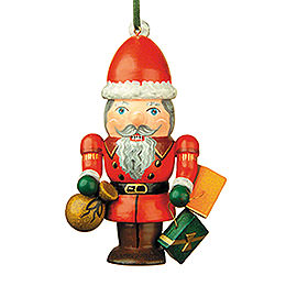 Tree Ornament - Nutcracker Santa - 7 cm / 3 inch