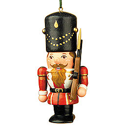 Tree Ornament - Nutcracker Soldier - 7 cm / 3 inch