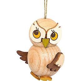 Tree Ornament - Owl Child natural - 4 cm / 1.6 inch
