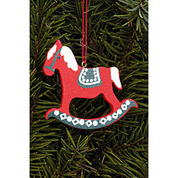 Tree Ornament - Pferd Gross - 6,2x6,5 cm / 2.4x2.5 inch