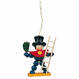 Tree Ornament - Plum Man Colored - 8 cm / 3.1 inch